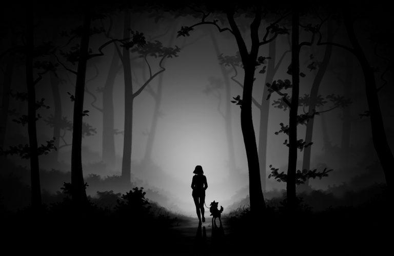 Forest Walk Sketch