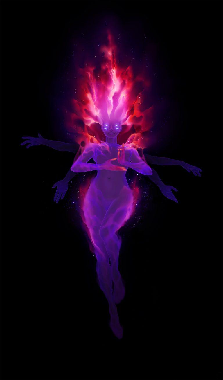 Emission Nebula character design