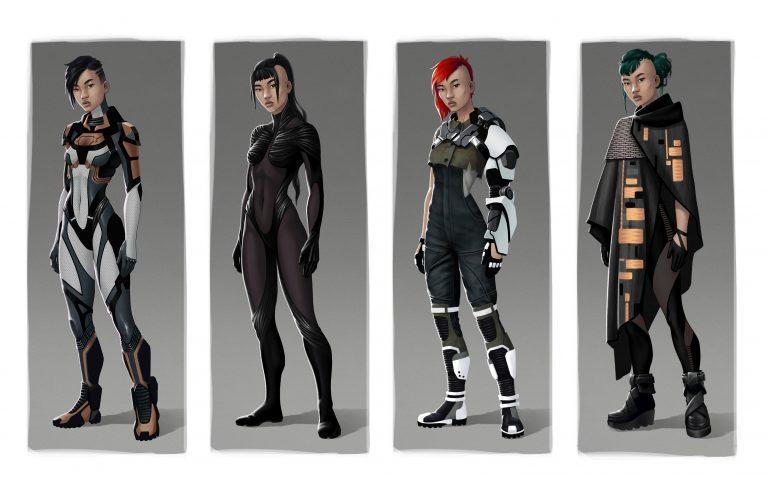 Mika suit exploration
