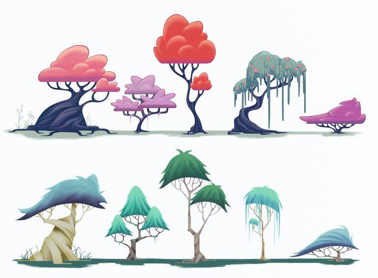 Tree design fun