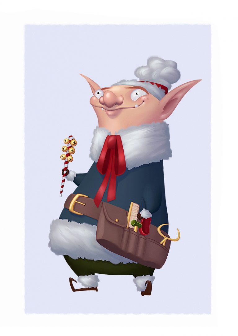 Elf design – Reindeer Handler